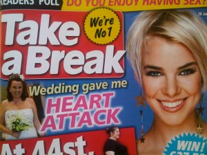 Sell real life story to Take a Break magazine