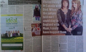 Sell your story to a Sunday newspaper