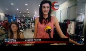 Jessica Pardoe on TV