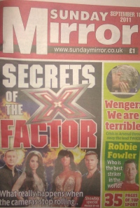 Sunday Mirror exposes what happens behind the scenes of X Factor