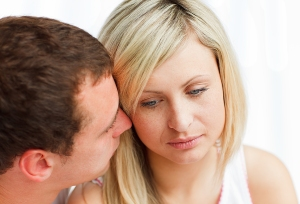 Infertility causes stress