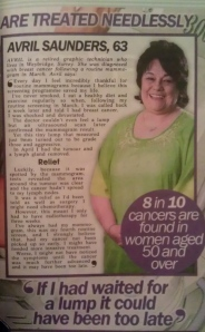 The Sun newspaper - health section