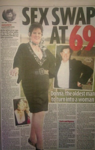 Oldest person to have a sex change