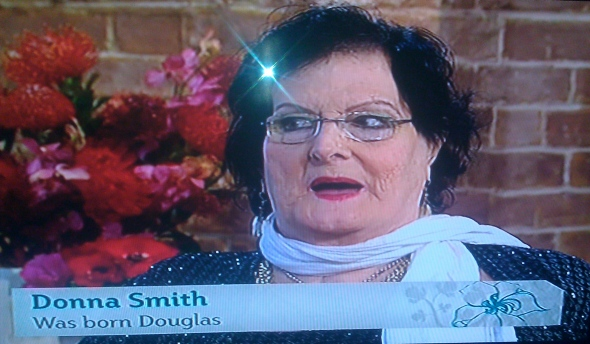 Transsexual Donna appears on ITV This Morning