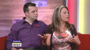 Sell story to ITV Daybreak