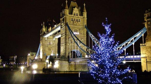 Giant Wooden Advent Calendar launched at Tower Bridge